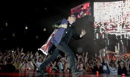 <p>Musica, al via il tour mondiale degli U2 su un palco gigante. REUTERS/Tim Wimborne</p>