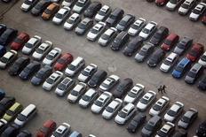 <p>Immagine d'archivio di un parcheggio. REUTERS/ Nir Elias (CHINA BUSINESS TRANSPORT)</p>