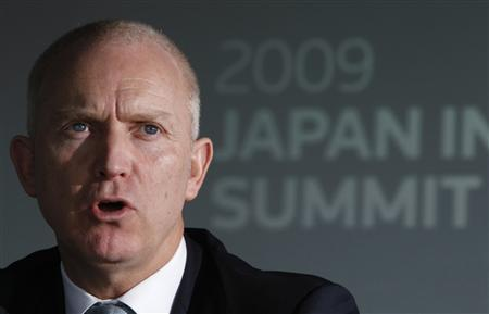 Barclays PLS, Chairman and Chief Executive, Asia Pacific Robert Morrice speaks at the Reuters Japan Investment Summit in Tokyo July 7, 2009. REUTERS/Toru Hanai