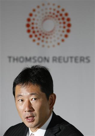 BlackRock Japan Co. Ltd. President and Representative Director Head Hiroyuki Arita speaks at the Reuters Japan Investment Summit in Tokyo July 8, 2009. REUTERS/Issei Kato