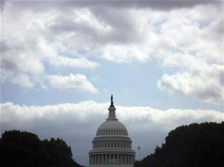 The U.S. Capitol building is seen on Capitol Hill in Washington, September 29, 2008. REUTERS/Jim Bourg