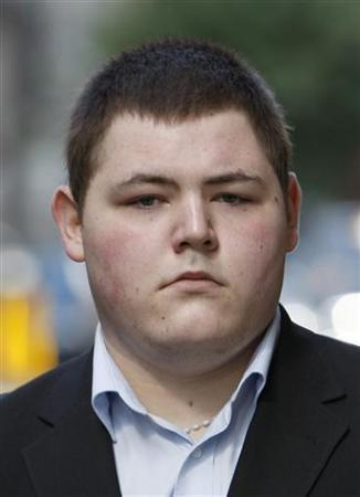 Actor Jamie Waylett arrives at Westminster Magistrates Court in London July 16, 2009. REUTERS/Stephen Hird