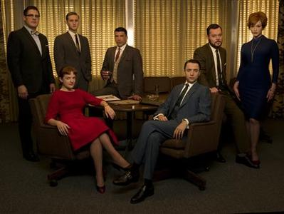 The cast of ''Mad Men'' in an undated photo courtesy of AMC. REUTERS/Handout