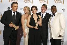 """<p>Elenco de """"30 Rock"""" no 66o Globo de Ouro em Beverly Hills. 11/01/2009. REUTERS/Lucy Nicholson</p>"""