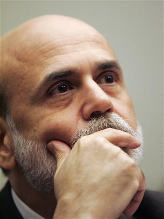 Federal Reserve Board Chairman Ben Bernanke listens to opening statements before testifying before the House Financial Services Committee on Capitol Hill, July 21, 2009. REUTERS/Richard Clement