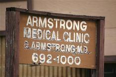 <p>La Armstrong Medical Clinic di Houston, dove lavorava il medico di Michael Jackson. REUTERS/Richard Carson (UNITED STATES ENTERTAINMENT CRIME LAW HEALTH)</p>