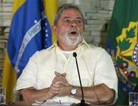 <p>Presidente Luiz Inácio Lula da Silva em Brasília. 13/07/2009. REUTERS/Jamil Bittar</p>
