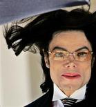 <p>Foto de arquivo do cantor Michael Jackson. 29/04/2005. REUTERS/Justin Sullivan</p>