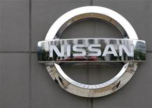 <p>Logo Nissan a Tokyo, Giappone. REUTERS/Toru Hanai</p>