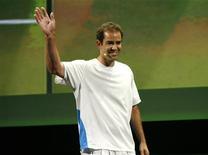 <p>Il tennista americano Pete Sampras. REUTERS/Mario Anzuoni</p>