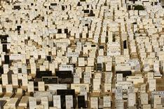 <p>Graves are seen at the Tel Aviv cemetery of Kiryat Shaul July 28, 2009. Israel is running out of space to bury its dead. REUTERS/Gil Cohen Magen</p>