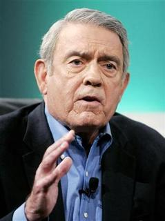 Former CBS news anchor Dan Rather answers questions at the Cable Television Critics Association press tour in Pasadena, California, in this July 11, 2006 file photo. REUTERS/Fred Prouser/Files