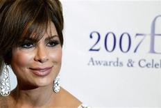 <p>Actress Paula Abdul arrives to attend the 35th annual FiFi awards to honor the fragrance industry's creative achievements in New York in this file photo from May 31, 2007. REUTERS/Lucas Jackson</p>