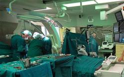 <p>Usa, primo pacemaker wireless regala nuova libertà a paziente. REUTERS/HO</p>