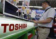 <p>Dopo l'abbandono dell'Hd-dvd, Toshiba si butta sul Blu-ray. REUTERS/Yuriko Nakao</p>