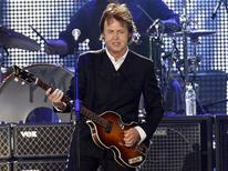 <p>Paul McCartney, ex-integrante dos Beatles, em apresentação em Nova York. 17/07/2009. REUTERS/Shannon Stapleton</p>