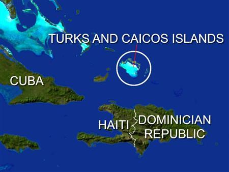 Britain ordered the suspension of the government of its Caribbean territory of the Turks and Caicos on Friday after an investigation found evidence of widespread corruption. REUTERS/Graphics
