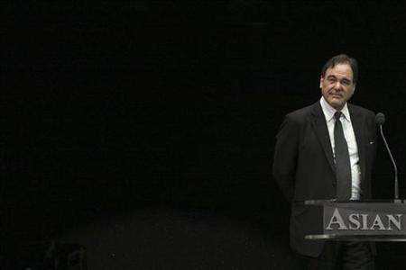 U.S. director Oliver Stone attends the Asian Film Awards in Hong Kong March 23, 2009. REUTERS/Tyrone Siu