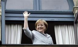 <p>Angela Merkel. REUTERS/Michael Dalder (GERMANY ENTERTAINMENT POLITICS)</p>