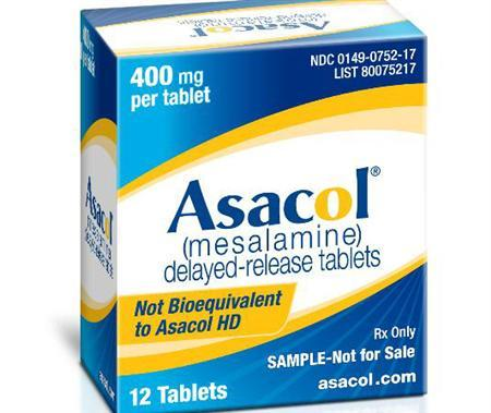 Asacol, part of P&G's portfolio of branded pharmaceutical products, in an undated image. REUTERS/Handout