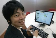 <p>Il fondatorte del sito giapponese di social network Mixi REUTERS/Yuriko Nakao (JAPAN)</p>