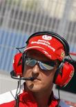 <p>Michael Schumacher. REUTERS</p>