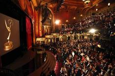 <p>The audience awaits the start of the 36th Annual Daytime Emmy Awards at the historic Orpheum Theatre in Los Angeles, August 30, 2009. REUTERS/Danny Moloshok</p>