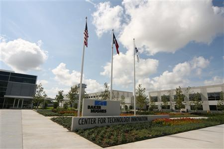 The Baker Hughes Center for Technology Innovation building in Houston, Texas is seen in this undated handout photo. REUTERS/Baker Hughes/Handout