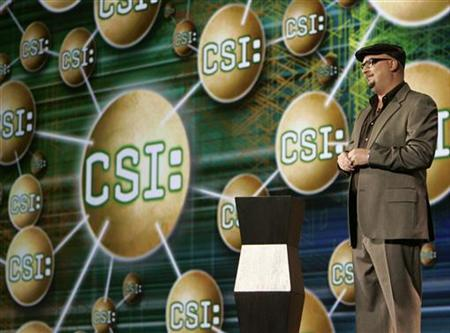 Anthony E. Zuiker, executive producer of the CSI television show, speaks at the 2007 International CES (Consumer Electronics Show) in Las Vegas, Nevada January 9, 2007. REUTERS/Rick Wilking