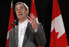 <p>Liberal leader Michael Ignatieff speaks during a news conference following the conclusion of the Liberal caucus summer retreat in Sudbury, Ontario September 2, 2009. REUTERS/Chris Wattie</p>