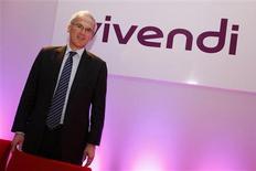 <p>Jean-Bernard Levy, le président du directoire de Vivendi. Le groupe français a annoncé le lancement d'une OPA amicale de 5,4 milliards de réals, soit deux milliards d'euros, sur l'opérateur télécoms brésilien GVT Holding SA. /Photo prise le 1er septembre 2009/REUTERS/Benoit Tessier</p>