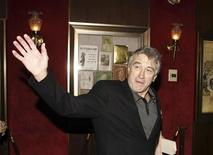 "<p>Actor Robert De Niro arrives at the premiere of the film ""Whatever Works"" on the opening night of the Tribeca Film Festival in New York, April 22, 2009.REUTERS/Lucas Jackson</p>"