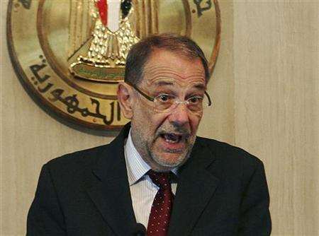 European Union's foreign policy chief Javier Solana speaks during a news conference after his meeting with Egypt's President Hosni Mubarak at the presidential palace in Cairo September 2, 2009. REUTERS/Asmaa Waguih