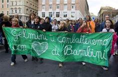 """<p>Scuola, Cobas annunciano """"assalti giocosi"""" domani contro Gelmini. REUTERS/Max Rossi</p>"""