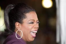 "<p>Oprah Winfrey arrives at the ""Precious"" film screening during the 34th Toronto International Film Festival, September 13, 2009. The festival runs from September 10-19. REUTERS/Mark Blinch (CANADA ENTERTAINMENT)</p>"