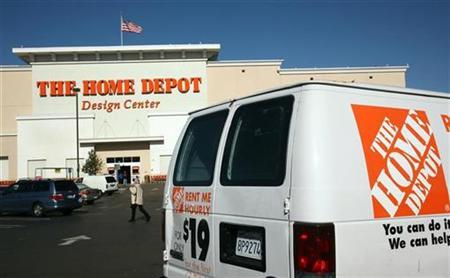 A Home Depot Inc. retail store is shown in Daly City, California in this January 26, 2009 file photo. REUTERS/Robert Galbraith
