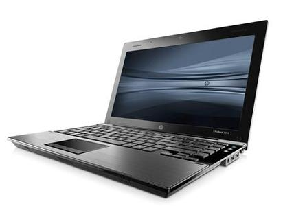 The new HP ProBook 5310m, the ''world's thinnest full-performance notebook'' at 0.9-inches thick, in an image courtesy of the company. REUTERS/Handout