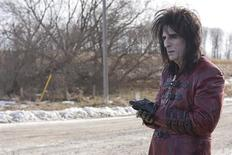 """<p>Rock star Alice Cooper in a scene from the movie """"Suck,"""" directed by Rob Stefaniuk and debuted at the 34th Toronto International Film Festival. REUTERS/Rafy, courtesy of Capri/Handout</p>"""