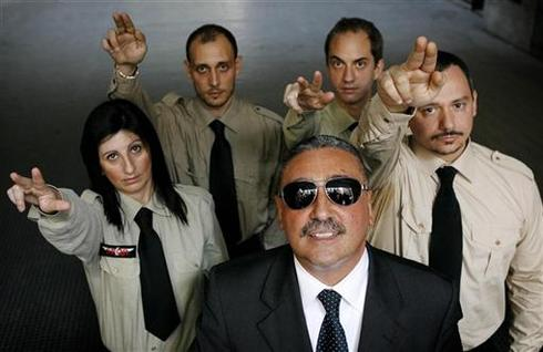 Italy's right-wing crime fighters