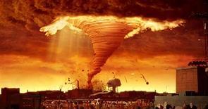 """<p>A animação """"Tá Chovendo Hambúrguer"""" (na imagem, um tufão de espaguete) faz sucesso nas bilheterias dos EUA(PRNewsFoto/NVIDIA Corporation)</p>"""