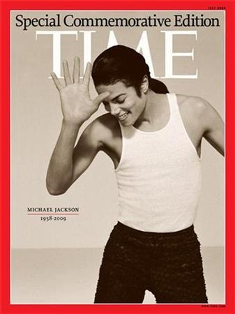 TIME Magazine's special commemorative issue on pop star Michael Jackson is shown here, released to Reuters on June 27, 2009 file photo. REUTERS/TIME Magazine/Handout
