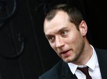 """<p>O ator britânico Jude Law recebeu críticas mistas por seu """"Hamlet"""" na Broadway REUTERS/Luke MacGregor</p>"""