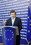 <p>Il presidente della Commissione Europea Jose Manuel Barroso. REUTERS/Yves Herman</p>