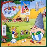 <p>Francobollo commemorativo di Asterix. REUTERS/Charles Platiau</p>