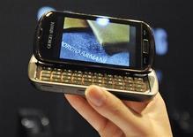 <p>O aparelho foi lançado em evento nesta sexta-feira, em Milão. REUTERS/Paolo Bona</p>