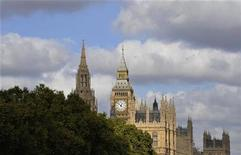<p>The Palace of Westminster is seen in London October 12, 2009. REUTERS/Kieran Doherty</p>