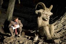 """<p>Director Spike Jonze and character Alexander are pictured on the set of the film """"Where the Wild Things Are"""" in this undated publicity photograph. REUTERS/Chris Searl/Warner Bros./Handout</p>"""