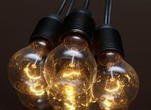 <p>Обычные лампы накаливания в жилой квартире в Мюнхене 31 августа 2009 года.Таджикистан, закрывший с 1 октября внутренний рынок для импортных ламп накаливания, планирует запретить их продажу, сообщила пресс-служба президента. REUTERS/Michael Dalder</p>
