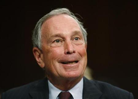 New York Mayor Michael Bloomberg testifies during the U.S. Senate Judiciary Committee confirmation hearing for U.S. Supreme Court nominee Judge Sonia Sotomayor on Capitol Hill on Capitol Hill in Washington July 16, 2009. REUTERS/Jason Reed