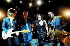 <p>The Brand New Heavies (L-R) Simon Bartholomew, Jan Kincaid, N'Dea Davenport and Andrew Levy in an undated photo. REUTERS/Handout</p>
